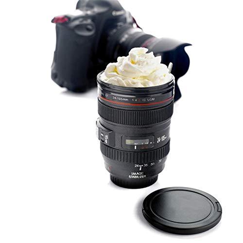 Diafrican Taza Objetivo de café Lente de cámara, Tazas de café con