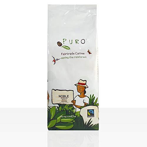 Miko Puro Noble Fairtrade - 1kg Crema Kaffee gemahlen