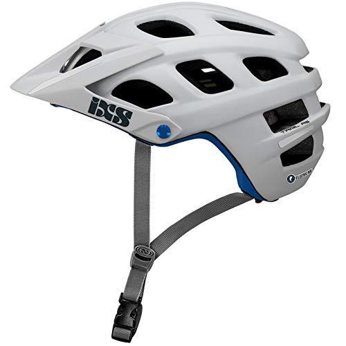 IXS Trail EVO Electric Plus E-Bike Edition - Casco de Bicicleta de montaña para Adulto, Unisex, Color Blanco, Mediano