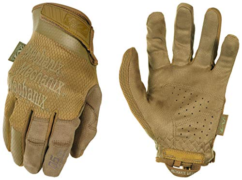 Mechanix Wear: Tactical Specialty 0.5mm High-Dexterity Coyote Tactical Work Gloves (XX-Large, Tan)