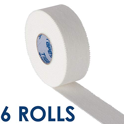 TIGERTAPES - Zinc Oxide Strapping - Long Sports Tape - Easy to Apply Sports Injury Tape for Sports...