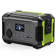 【POWERFUL PORTABLE POWER STATION】: Paxcess ROCKMAN 200 powerful portable generator to keep you going for days, pure sine wave 110V AC outlets deliver stable 200W continue power(300W peak power) for charging your small devices from laptops, tablets, s...