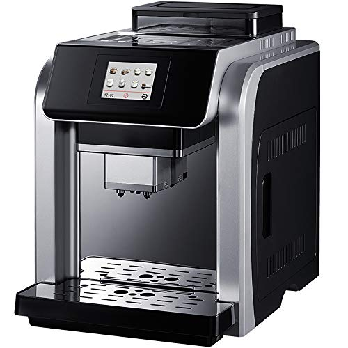 Learn More About JJCFM Coffee Machine, Commercial Household Automatic Coffee Machine Double Boiler I...