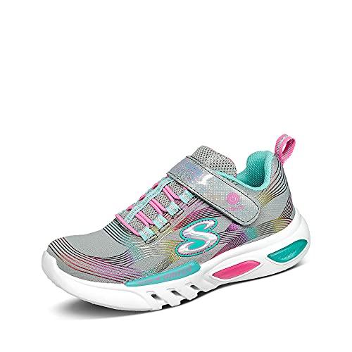 Skechers Mädchen Glow-Brites Sneaker, Gymt, 32 EU