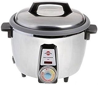 Oosterse rijstkoker Pars Khazar 181 TS voor knapperige rijst, 8 personen, roestvrij staal