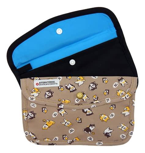 Cussi - Pack de 2 MaskCase, estuches de tela rectangulares para...