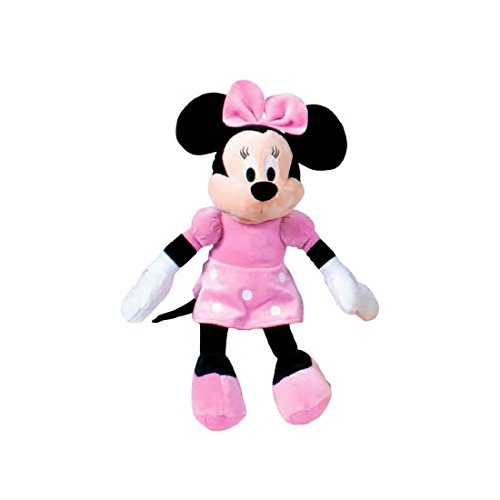 Minnie Mouse - Peluche, Color Rosa (Famosa 760011895)