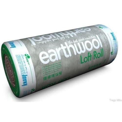 Knauf Loft Insulation 100 Millimetre x 8.3 Square Metre Per Roll Pack of 3 Rolls Covers 24.9 Square Metre Total