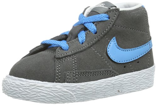 Nike Sneaker Blazer Mid (TD) Grigio/Azzurro EU 23.5 (US 7C)