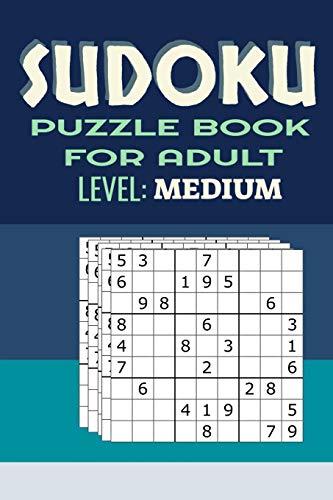 Sudoku Puzzle Book For Adults Level Medium: 320 Puzzles and Solutions, Level Medium Puzzles Books For Adults 9×9, brain games relax, solve sudoku purple, publications international