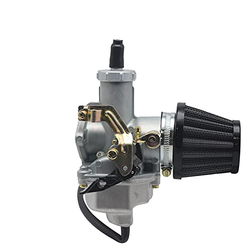 Carb Carburador PZ26 PZ27 PZ27 PZ30 Carburador con Filtro de Aire Conjunto Cable de Manual para 125cc 150cc 200cc 250cc Dirt Pit Bike ATV Quad Motor (Color : PZ30 Auto)