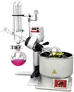 Across International SE05.110 SolventVap 0.5 gal/2 L Rotary Evaporator with Manual Lift 110V, 1075W, 9.8 Amp