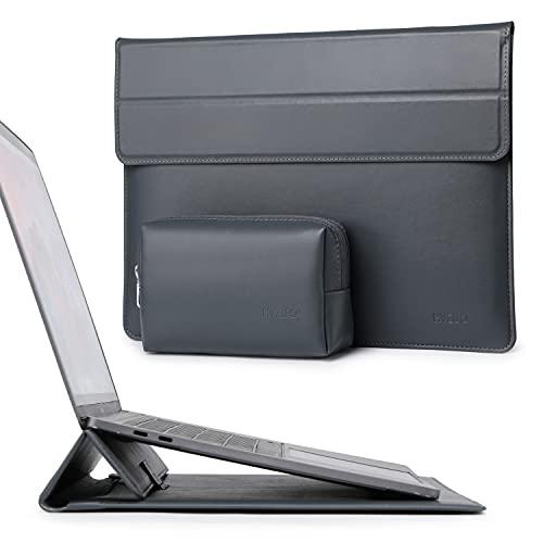 HYZUO 13 Pollici Custodie per PC Portatile Borsa con Funzione Stand Compatibile con MacBook Air 13 M1 2018-2021/MacBook Pro 13 M1 2016-2021/ iPad Pro 12,9 2021 2020/Surface Pro X 7 6 5 4 3/Dell XPS 13