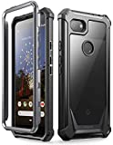 POETIC Google Pixel 3a Rugged Clear Case, Full-Body Hybrid