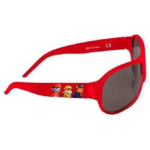 Patrulla Canina - Gafas de Sol 100% UV, color Rojo.