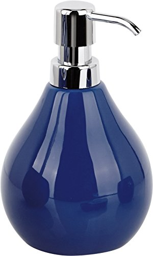 Sanwood Seifenspender COPPALINO 450 ml tinten-blau aus Keramik - passend zu Sanwood Coppa