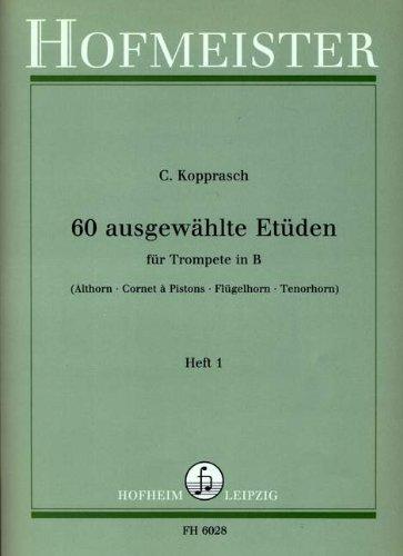 60 AUSGEWAEHLTE ETUEDEN 1 - arrangiert für Trompete [Noten / Sheetmusic] Komponist: KOPPRASCH C