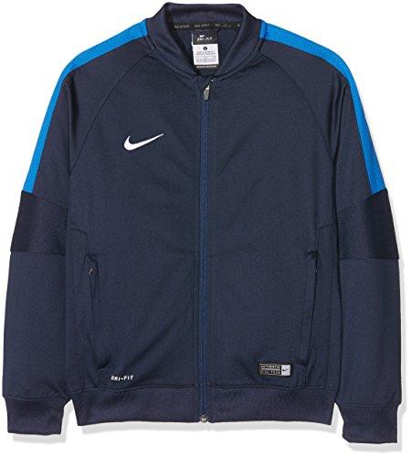 Nike Kinder Jacke Sideline Knit Squad 15, Dark Blue/Blue, M