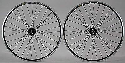 Mavic CXP Elite 700c Black Single Speed Track Bike Wheelset Formula hubs DT
