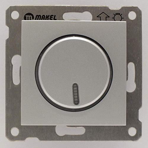 Lumia Dimmer (Wechselschaltung), VDE Zertifiziert, Unterputz, in silber