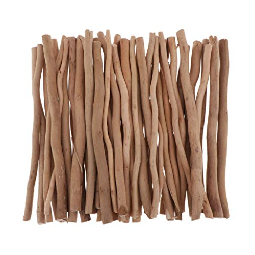 joyMerit 流木作品 ドリフト枝 水族館 装飾品 流木水槽の装飾 アクセサリーパーツ 約50個入り 全3サイズ - ...