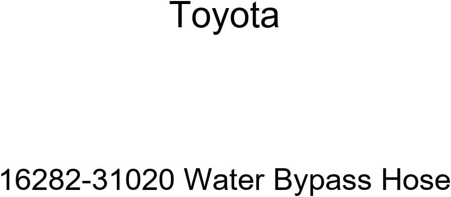 Genuine Toyota 16282-31020 Bypass Hose Quantity limited New life Water