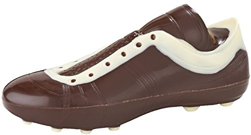 04#022621 Schokolade Fußballschuh, einfach, Zartbitter, Fußballer, Fußballspieler, Tor, Schalke, BVB,