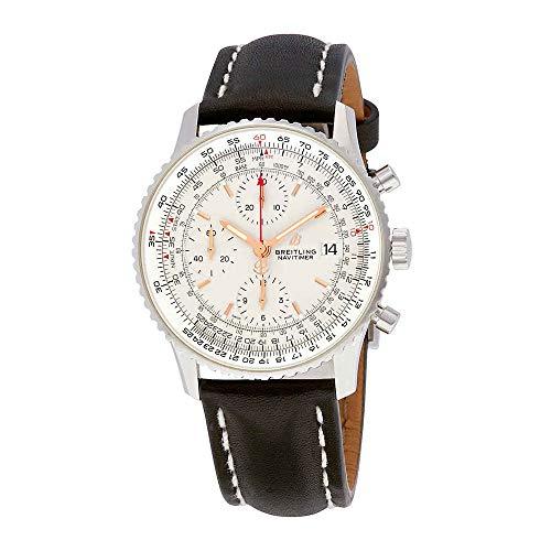 Breitling Navitimer 1 Cronografo Automatico Quadrante Argento Uomo Orologio A13324121G1X2