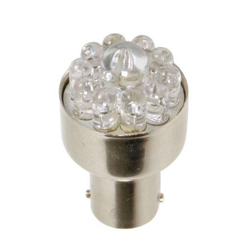 Pilot LA_58374 Ampoule LED R5W-R10W, BA15S, 12 V (Rouge)