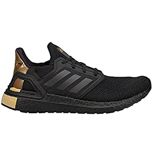 adidas Mens Ultraboost 20 Running Sneakers Shoes - Black,Gold - Size 9 M