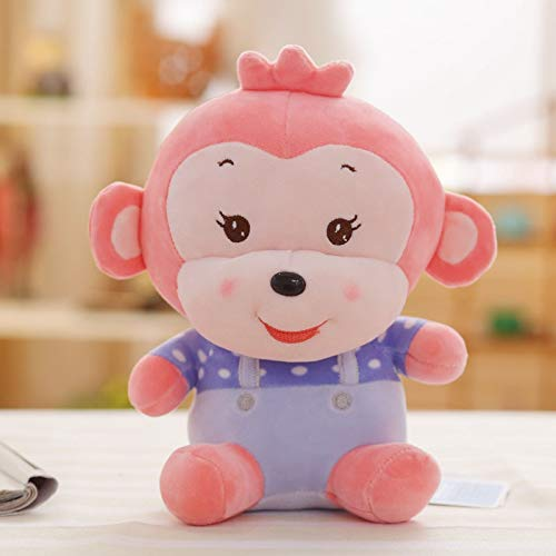 GSDJU Navidad,Halloween,1 Pieza Little Monkey Plush Toy, Monkey Cloth Doll, Monkey Doll, Colgante Xibao Monkey Doll, Regalo de cumpleaños, Juguete para niños