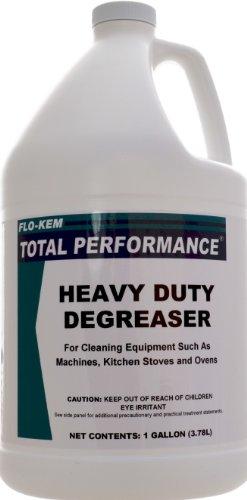 Flo-Kem 202 Heavy Duty Degreaser with Lemon Scent, 1 Gallon Bottle, Blue