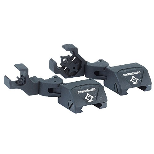 Check Out This Diamondhead USA D-45 Diamond Front and Rear Combat Sights with Integrated Sighting Sy...