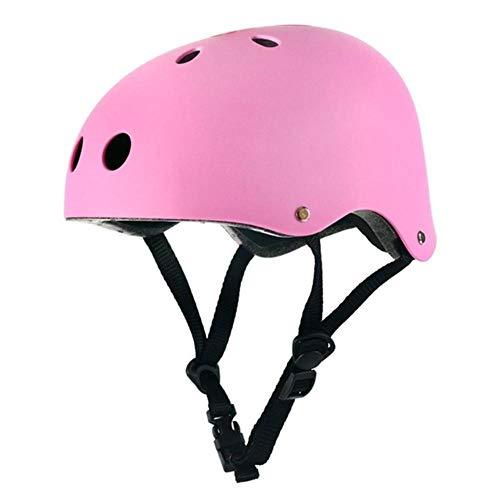 Ronde mountainbike helm heren sportaccessoires fietshelm racefiets mountainbike fietshelm, roze, m (53-56cm)