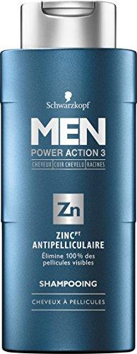 Schwarzkopf Herren Shampoo Zink Antipellikular 250 ml – 3er Pack (3 x 250 ml)