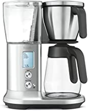 Breville Precision Brewer Glass Coffee Maker, Brushed Stainless Steel, 12.4