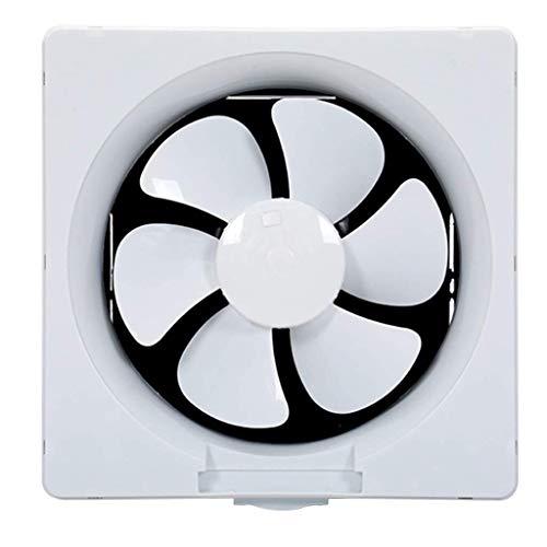 Ventilateur d'extraction for salle de bains, ventilateur d'extraction de ventilation de cuisine d'échappement de 8 pouces de ventilateur d'extraction bidirectionnel de salle de bains cendre forte sile