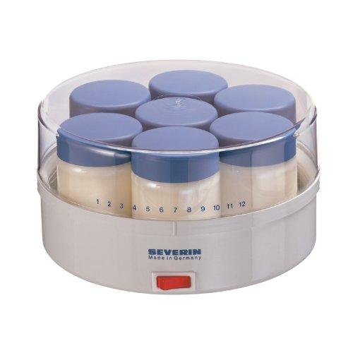 Severin - Jg 3516 - yogurtera - blanco/azul claro