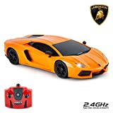CMJ RC Cars™ Lamborghini Aventador LP700-4 Officially Licensed Remote Control Car 1:24 Scale