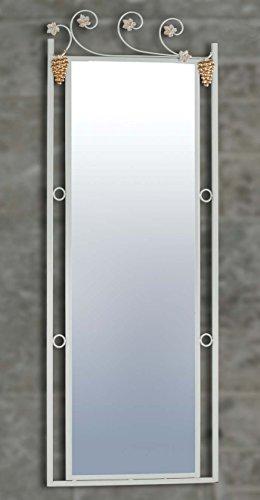 DECORACIÓN BELTRÁN Grands miroirs en fer forgé: modèle BOURGOGNE. 65x182cms