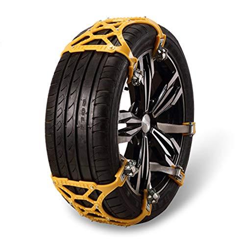 Cadenas de nieve for neumáticos resistentes al desgaste Cadena de engrosamiento de...