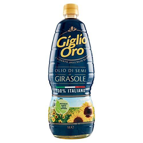 GIGLIO ORO Olio Di Semi Di Girasole,100% Italiano ,1 X 1000 ml