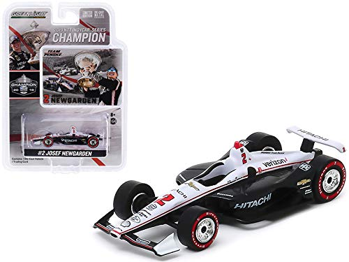 Greenlight 10858 2019#2 Josef Newgarden 2019 NTT IndyCar Series Champion/Team Penske Hitachi 1/64 Scale