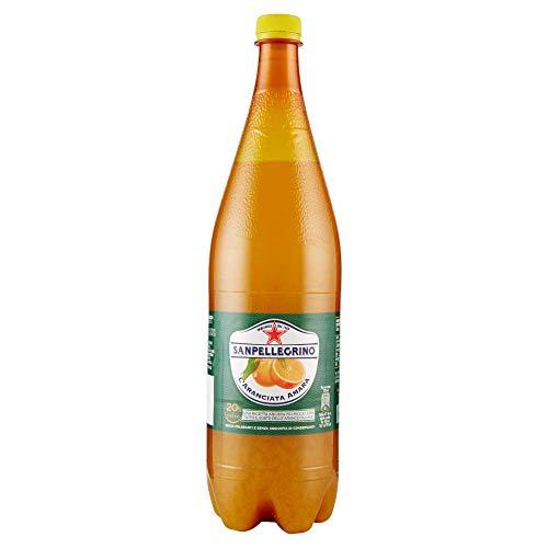 6x San Pellegrino PET Flasche Dose 1.25L Aranciata Amara Limonade Bitteroange