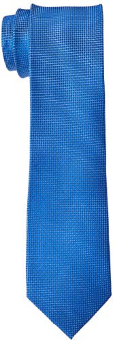 BUGATTI 6002-90000 Cravatta, Blu (Blau 360), Taglia unica Uomo