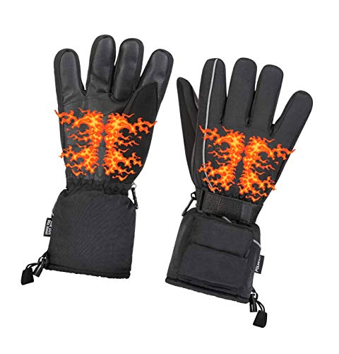 Heated Warm Gloves Men & Women - One Adult Size Thermal Electric...