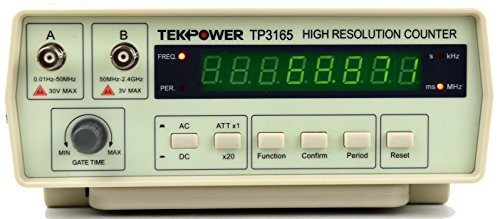 TekPower TP3165, Intelligent Frequency Counter 0.1Hz to 2.4Ghz, with high resolution OEM Victor VC3165
