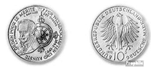 Prophila Münzen für Sammler: BRD (BRD. Deutschland) Jägernr: 4541992D Stgl./unzirkuliert Silber Stgl./unzirkuliert 199210Deutsche Mark Verdienst