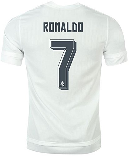 adidas Trikot Real Madrid 2015-2016 Home (Ronaldo 7, M)