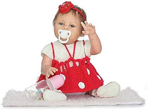 IIWOJ Wiedergeborenes Baby Doll Simulation Cute 5cm mädchen Silikon Puppe Fotografie Requisiten
